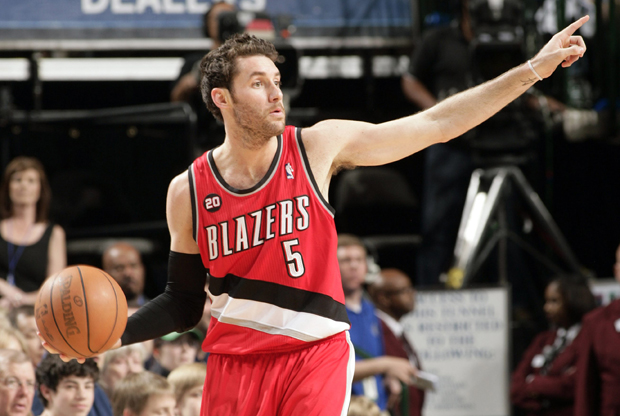 Rudy Fernández, escolta de Dallas Mavericks, en su etapa con Portland Trail Blazers./ Getty Images