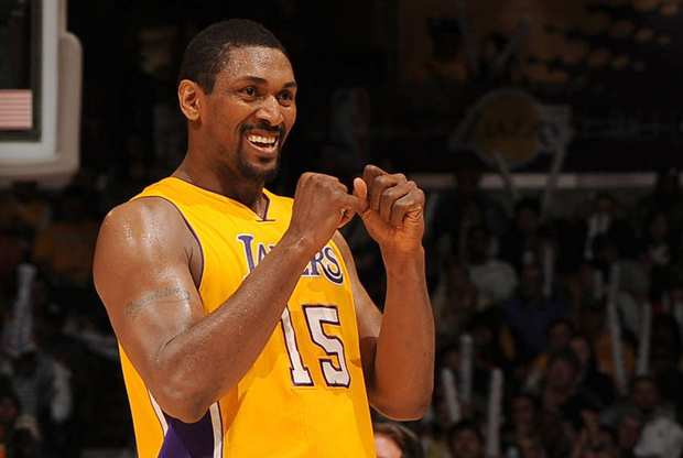 Ron Artest (Los Angeles Lakers)./ Getty Images