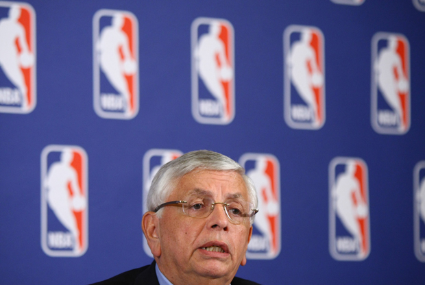 David Stern, Comisionado de la NBA./ Getty Images