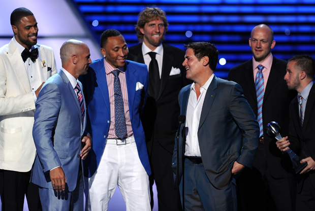 The 2011 ESPY Awards - Dallas Mavericks./ Getty Images