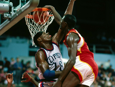 Dominique Wilkins (Atlanta Hawks)./ Getty Images