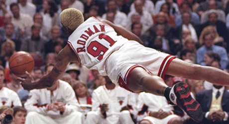 Dennis Rodman (Chicago Bulls)./ Getty Images