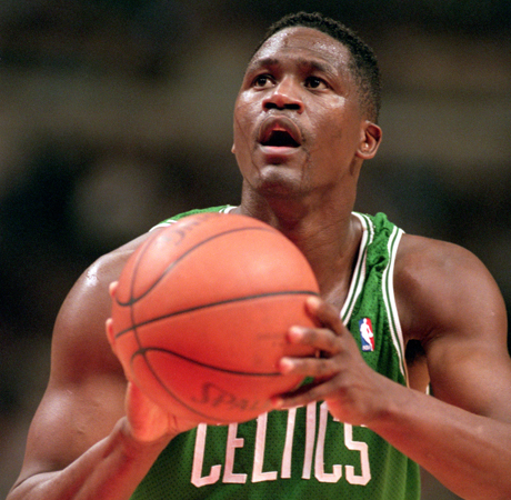 Dominique Wilkins (Boston Celtics)./ Getty Images