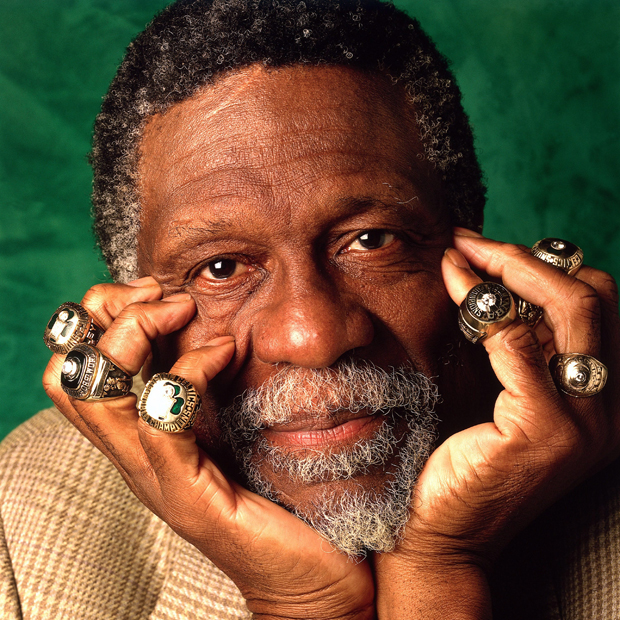 Bill Russell (Boston Celtics)./ Getty Images