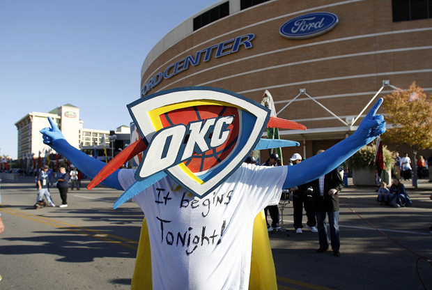 Oklahoma City Thunder - Ford Center./ Getty Images