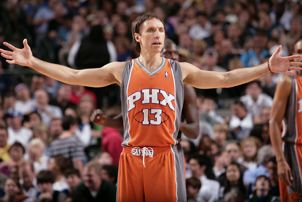 Steve Nash (Phoenix Suns)./ Getty Images