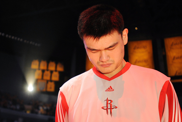 Yao Ming (Houston Rockets)./ Getty Images