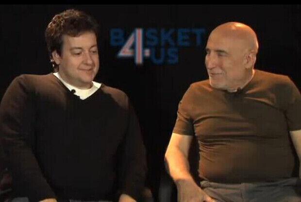 Antoni Daimiel y Ramón Trecet en Basket4us.com