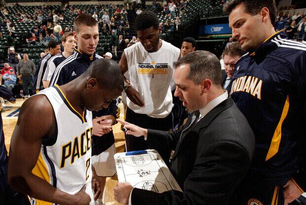 Frank Vogel, entrenador de Indiana Pacers./Getty