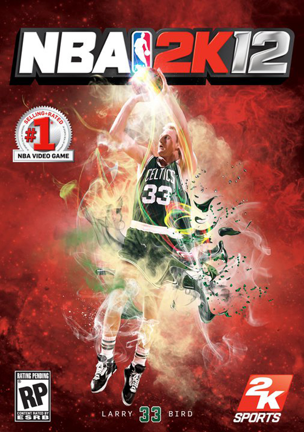 Portada de 2k12 con Larry Bird