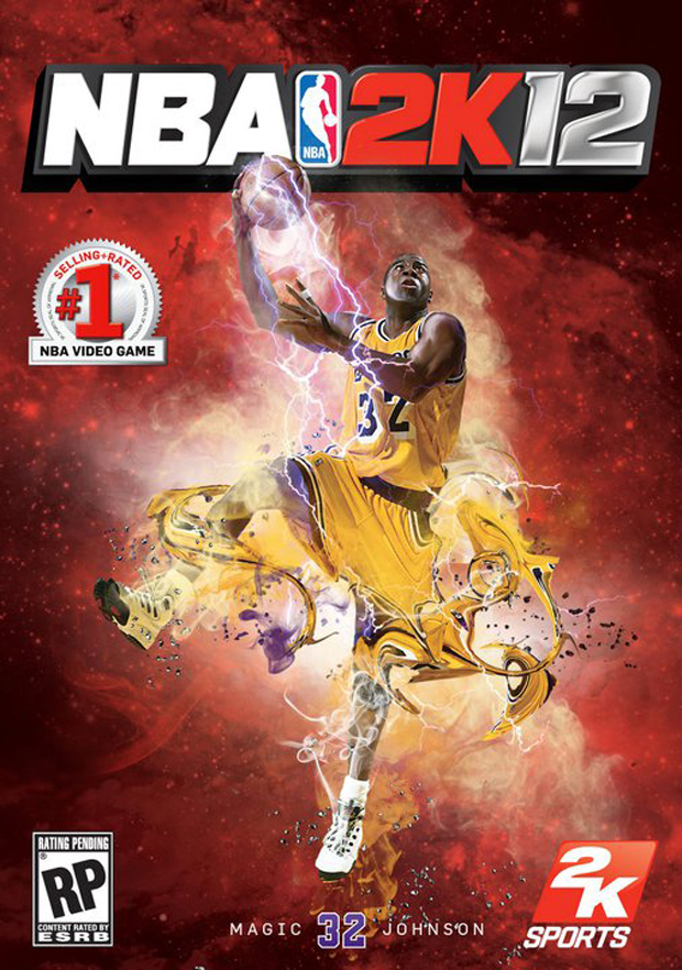 Portada de 2k12 con Magic Johnson