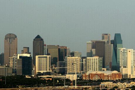 Imagen panorámica del centro financiero de Dallas./Getty