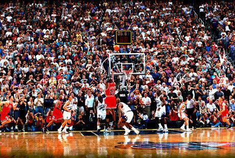 El tiro ganador de Jordan en 1998./Getty