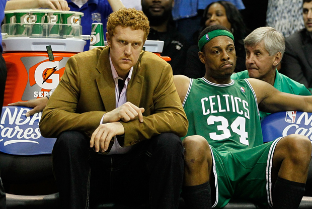 Brian Scalabrine (Boston Celtics)./ Getty Images
