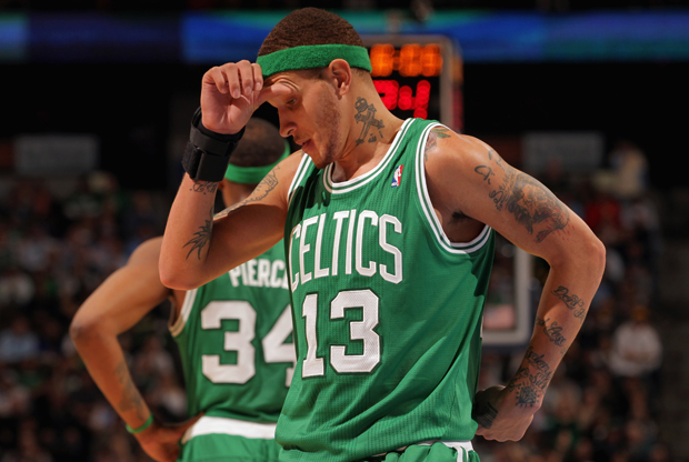 Delonte West (Boston Celtics)./ Getty Images