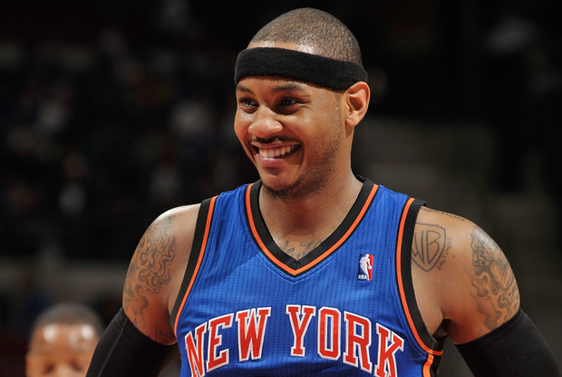 Carmelo Anthony (New York Knicks)./ Getty Images