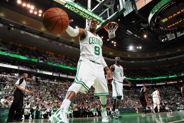 Rajon Rondo (Boston Celtics)./ Getty Images