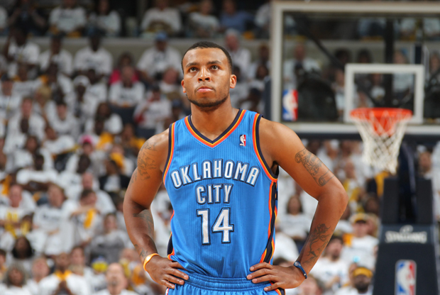 Daequan Cook (Oklahoma City Thunder)./ Getty Images