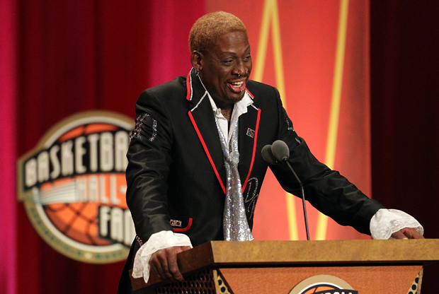 Dennis Rodman - Basketball Hall of Fame ./ Getty Images