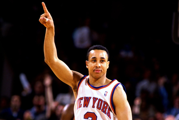 John Starks (New York Knicks)./ Getty Images
