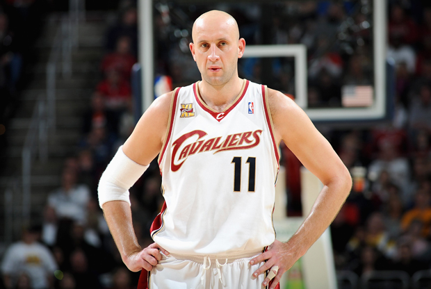 Zydrunas Ilgauskas (Cleveland Cavaliers)./ Getty Images