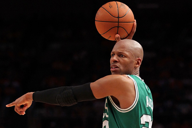 Ray Allen./Getty