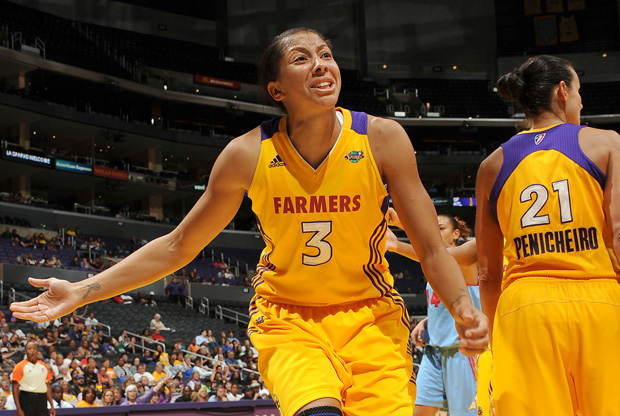 Candace Parker./Getty