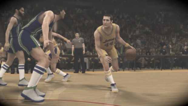 Jerry West./ 2K Sports