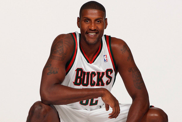 Samaki Walker, con la camiseta de los Bucks./ Getty