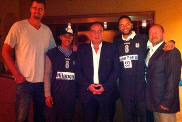 Deron Williams, con la camiseta del Besiktas