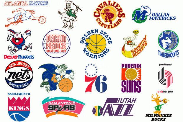 Escudos de la NBA./ NBA.com