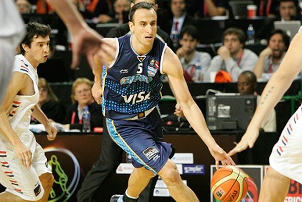 Manu Ginóbili./FIBA América
