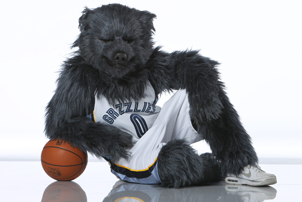 Grizz, la mascota de Memphis Grizzlies./ Getty Images