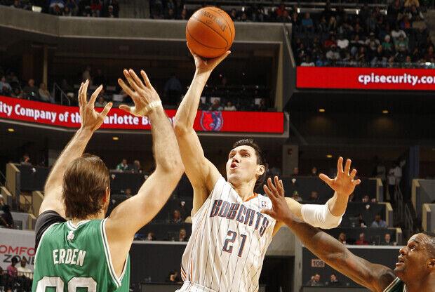 Eduardo Nájera (Charlotte Bobcats)./ Getty Images
