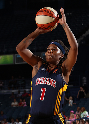Shavonte Zellous (Indiana Fever)./ Getty Images