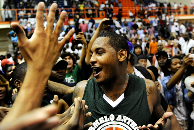Carmelo Anthony (Melo League)./ Getty Images