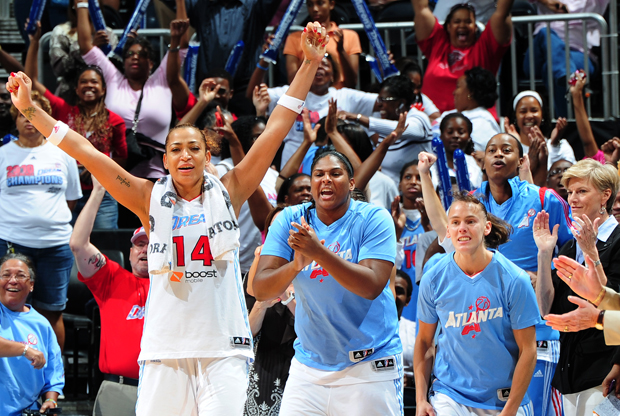 Atlanta Dream./ Getty Images