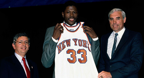 Patrick Ewing (New York Knicks)./ Getty Images