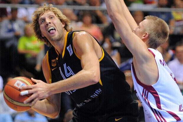 Dirk Nowitzki (Alemania)./ FIBA