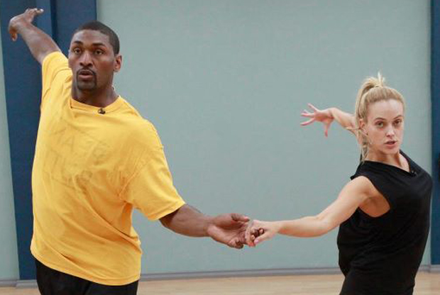 Ron Artest en 'Dacing with the Stars'./ Lakers Nation