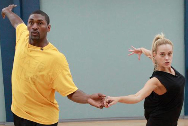 Ron Artest en 'Dancing with the Stars'