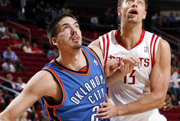 Byron Mullens (Oklahoma City Thunder)./ Getty Images