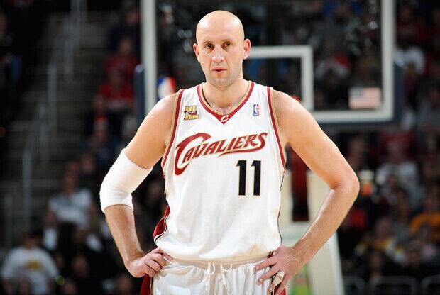 Zydrunas Ilgauskas (Cleveland Cavaliers)./ Getty Images
