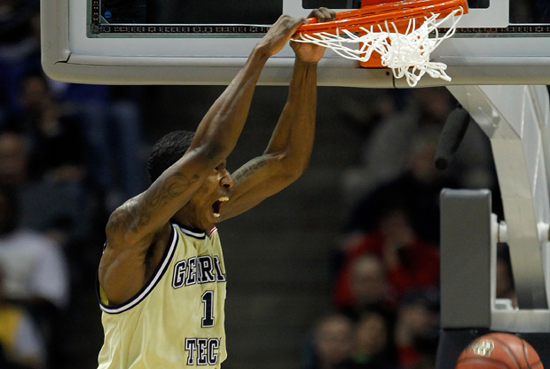 Iman Shumpert (Georgia Tech)./ Getty Images