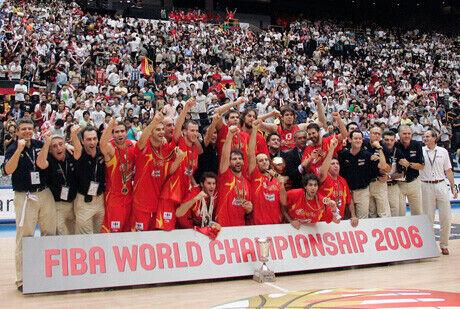 Una foto histórica: España, campeona del mundo 2006./Getty