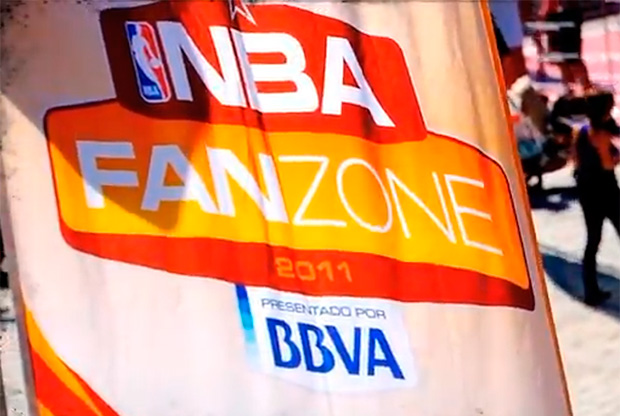 La Fanzone NBA-BBVA aterrizó en Madrid