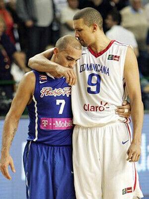 Carlos Arroyo y Francisco García./ FIBA AMERICAS