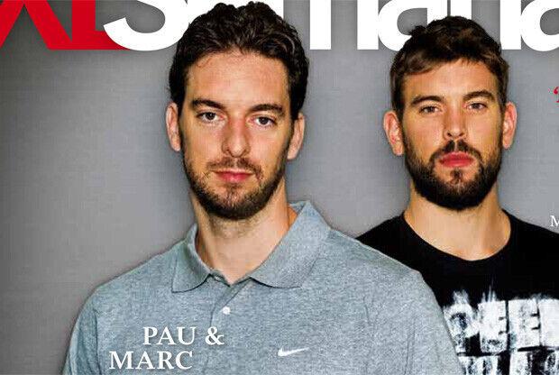 Pau y Marc, protagonistas de la portada de la revista XL Semanal