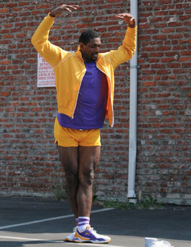 Ron Artest./ Stiletto Jill