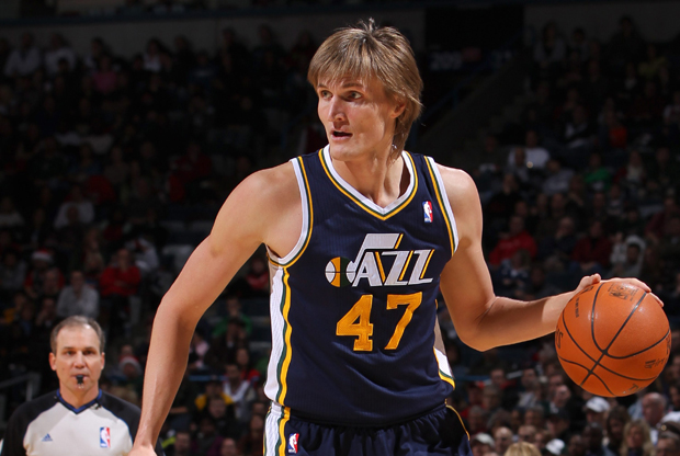 Andrei Kirilenko (Utah Jazz)./ Getty Images